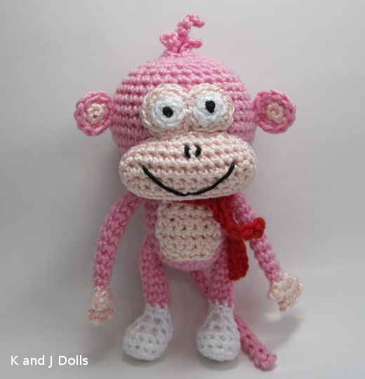 Cheeky Monkey Amigurumi Crochet Pattern : Smashwords Cheeky Monkey Amigurumi Crochet Pattern - A ...