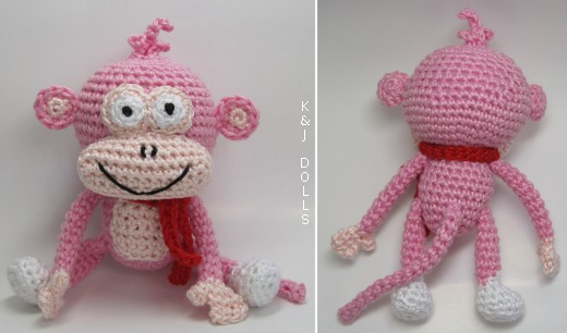 Amigurumi Monkey Patterns : Free monkey amigurumi crochet patterns