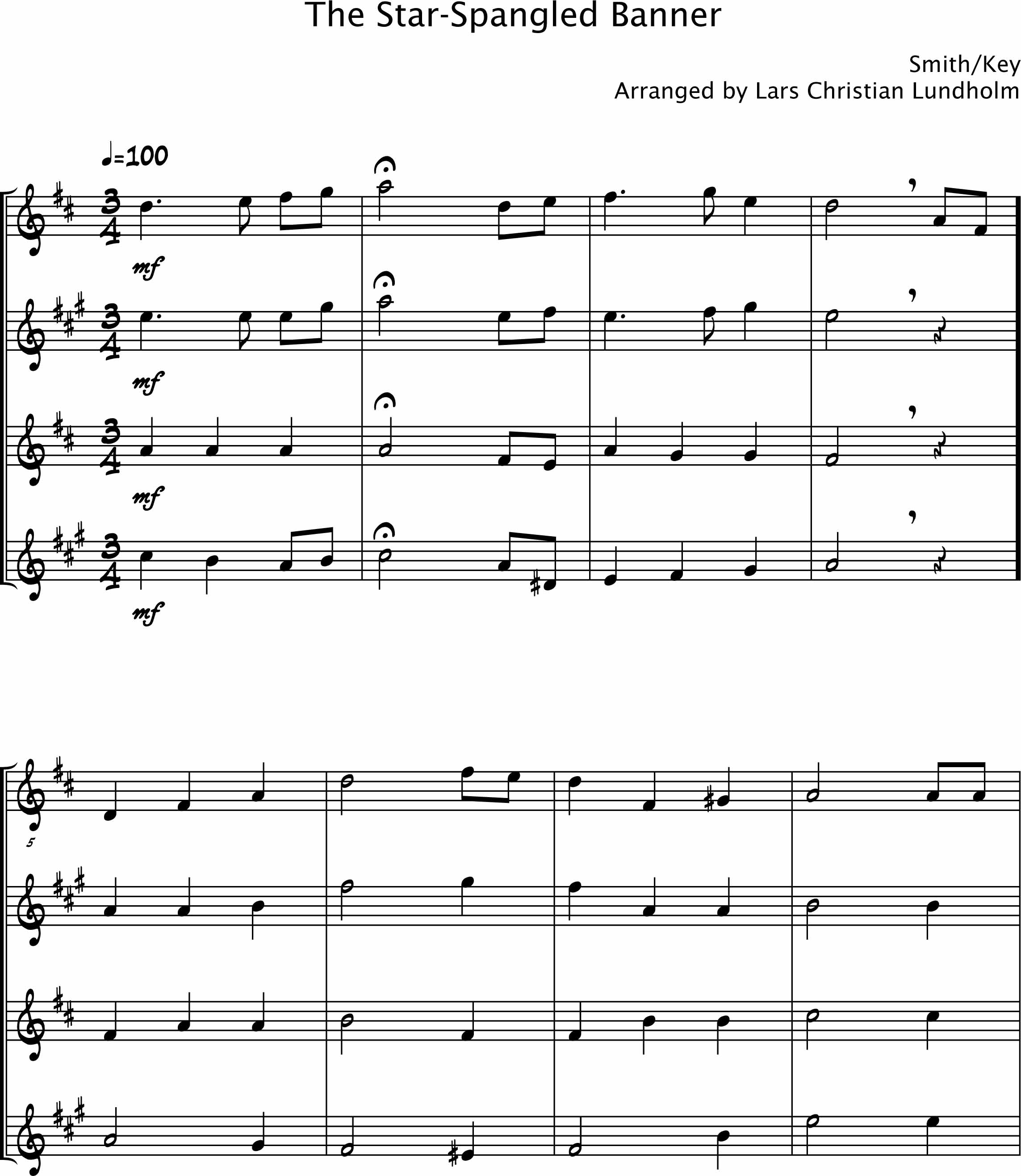 Nessun Dorma Lyrics Sheet Music: Sax Quartet Sheet Music Download