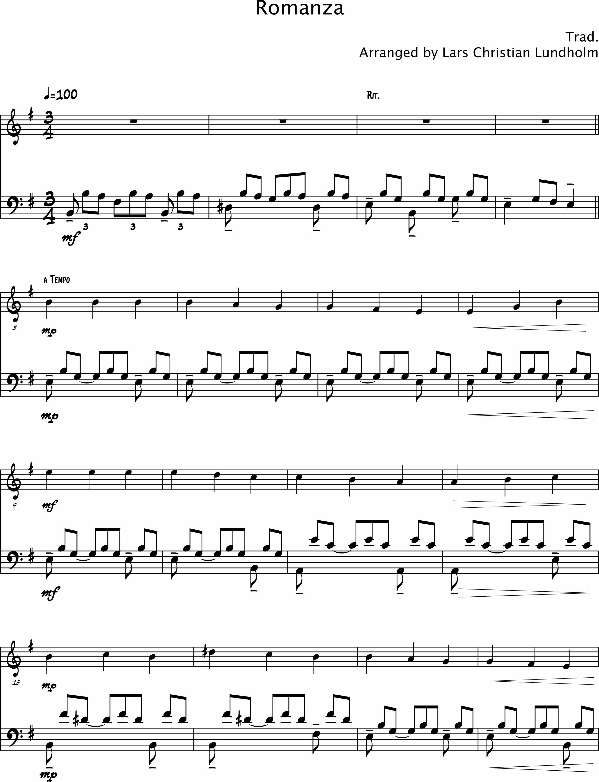 Smashwords – Spanish Romance Pure sheet music duet for violin and ...