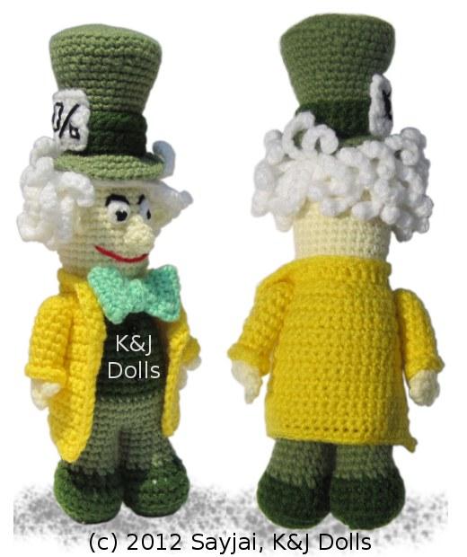 Mad Hatter Amigurumi : Smashwords Mad Hatter Amigurumi Crochet Pattern - A book ...