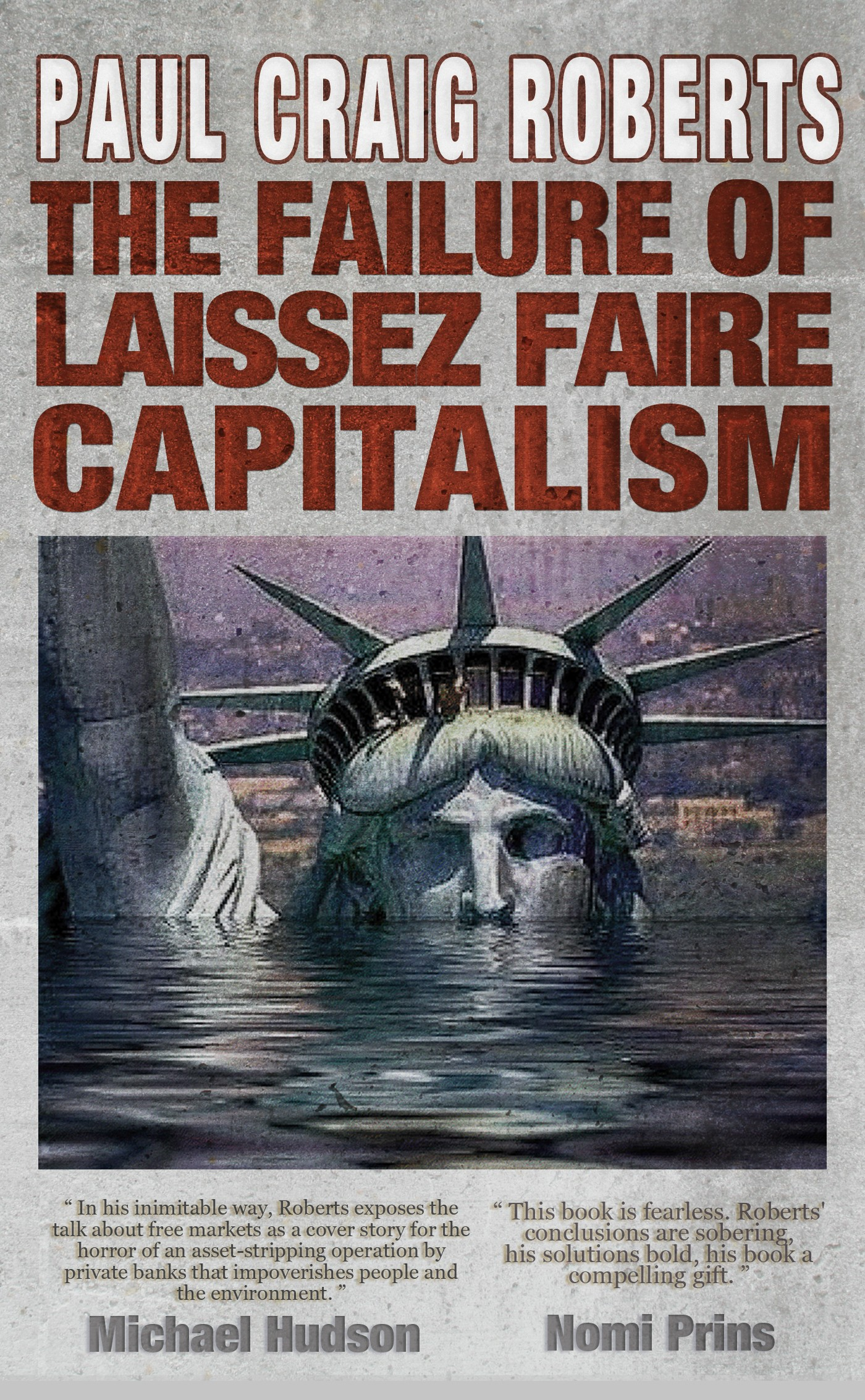 the governmental policy of laissez faire Laissez-faire means leave it alone usually it describes the economic policy of a government that stresses non-interference in business it might also be applied to situations outside economics where governmental interference in personal activities is avoided or when you take a hands off approach.