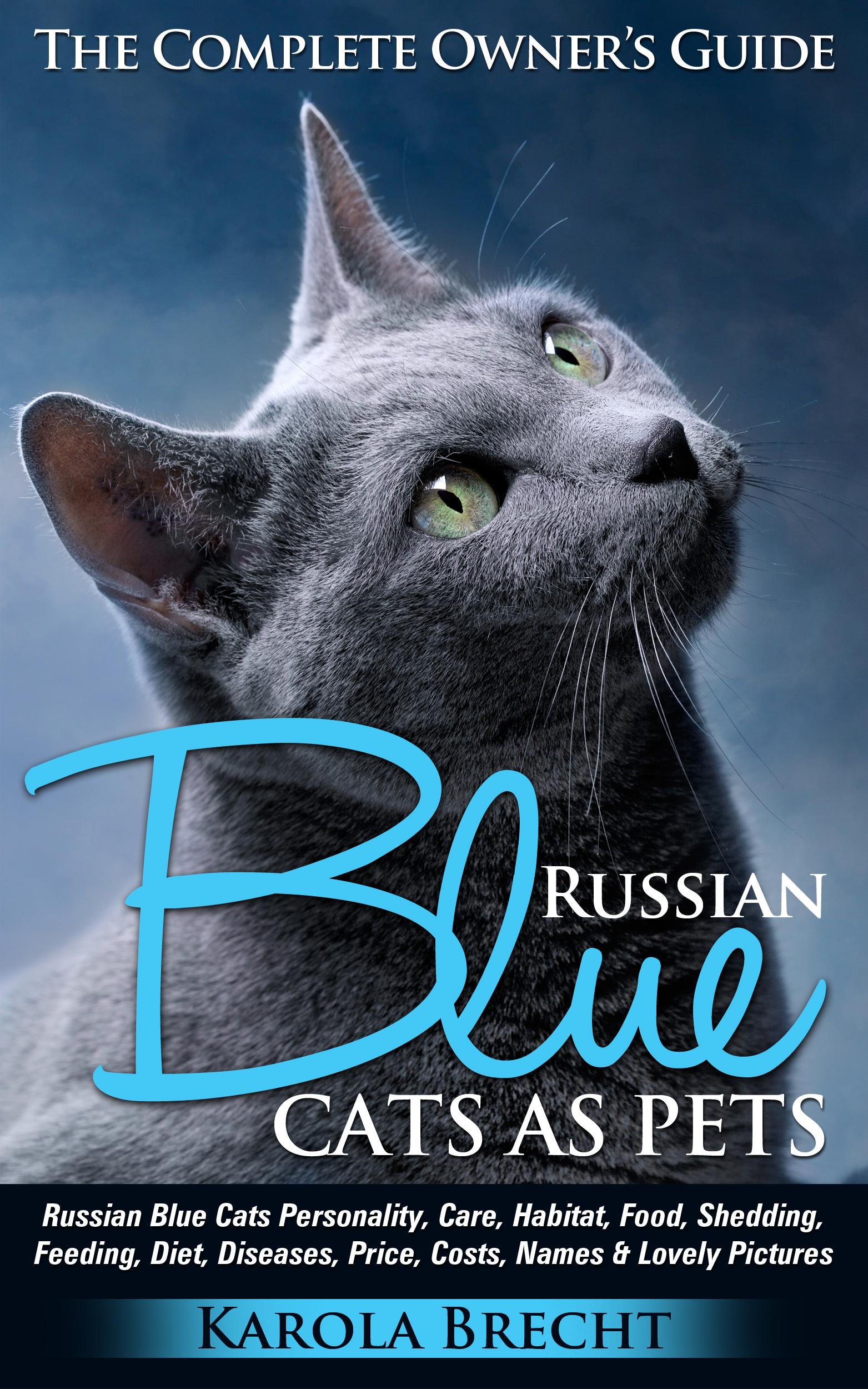 Smashwords – Russian Blue Cats As Pets Personality Care Habitat
