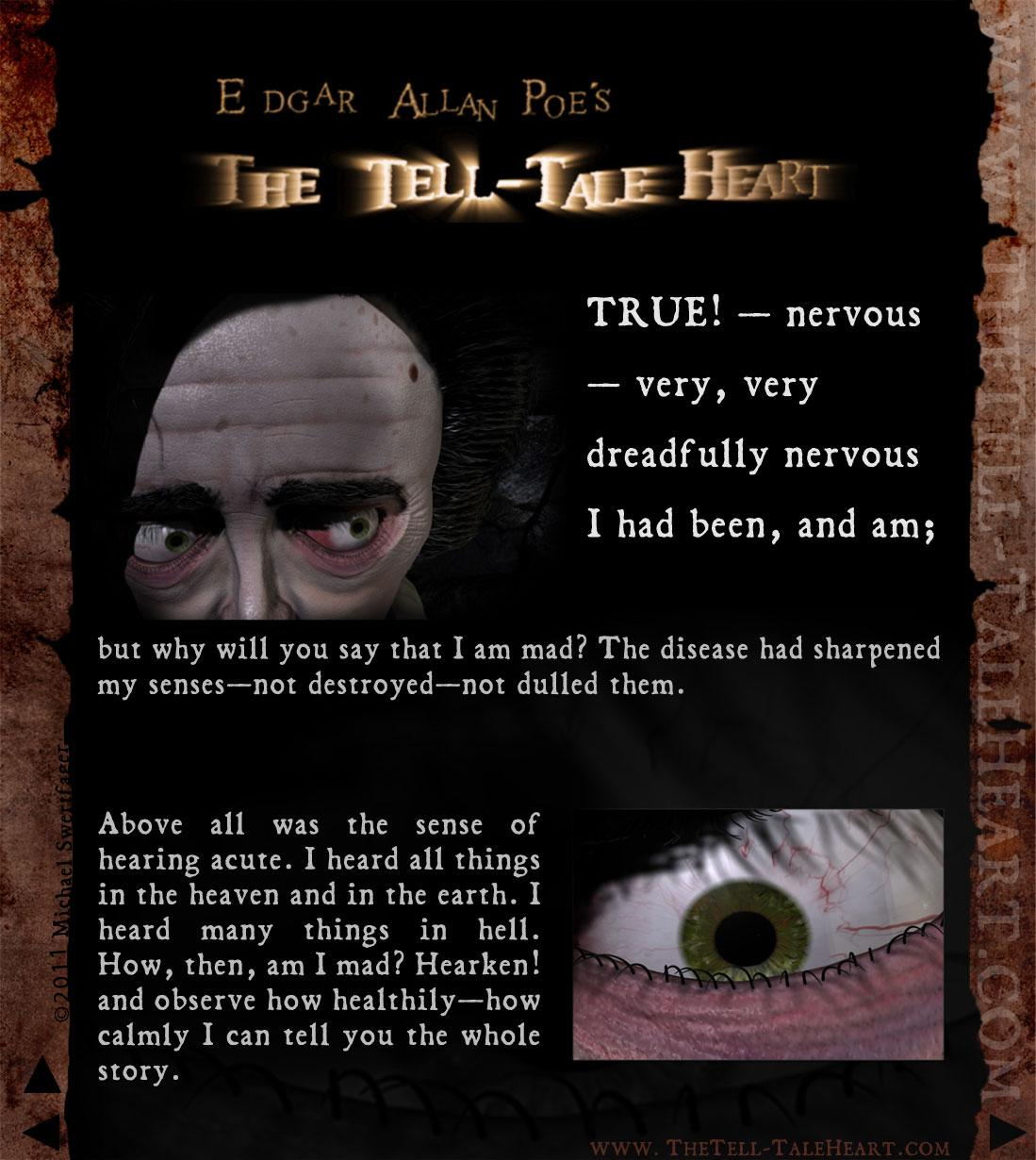 edgar allan poe the tell tale The paperback of the the tell-tale heart and other writings by edgar allan poe at barnes & noble free shipping on $25 or more.