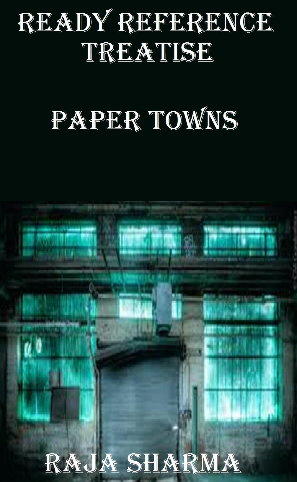 Paper Towns: Chapter 1 Lyrics
