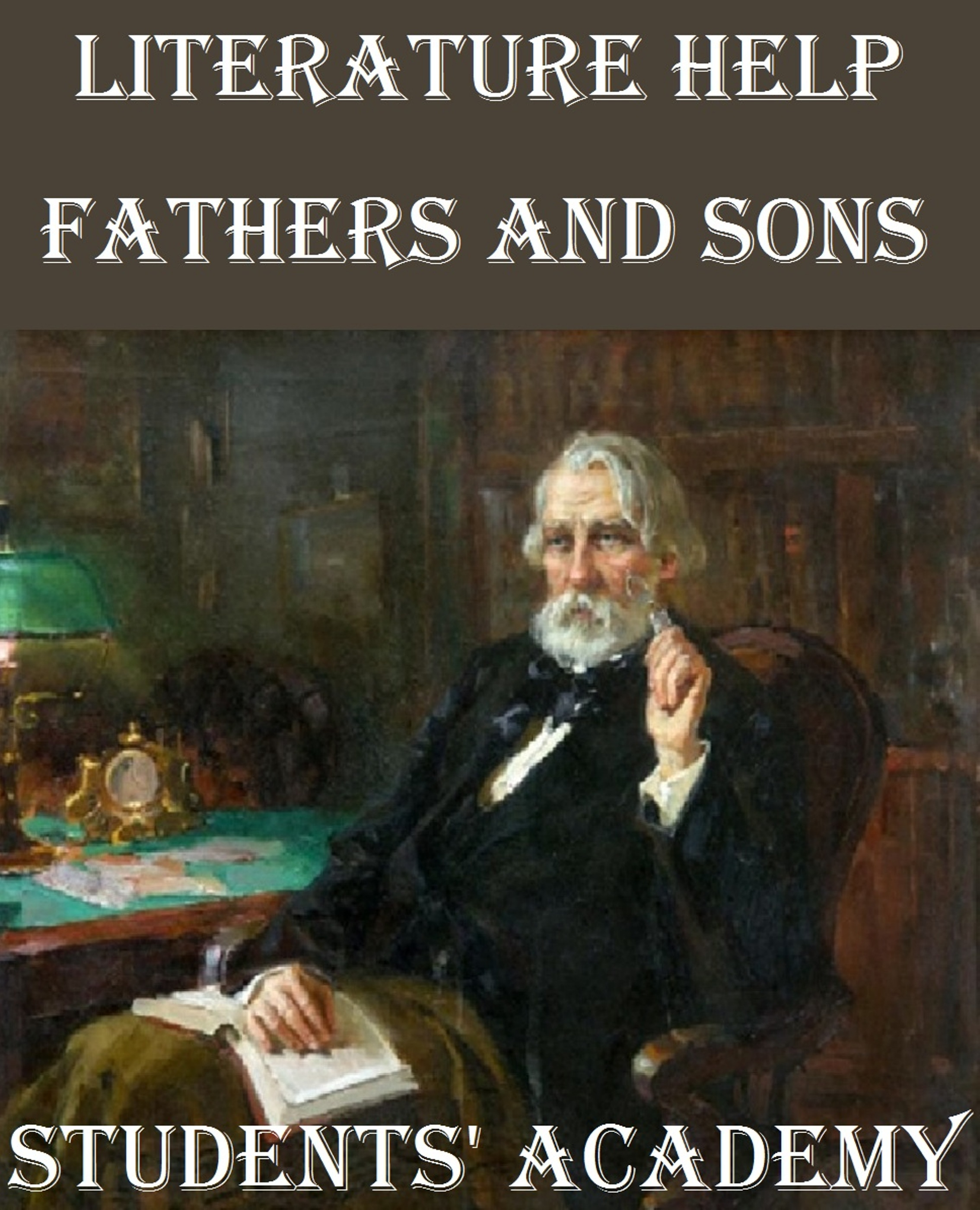 a literary analysis of nihilism in turgenovs fathers and sons Nihilism is the belief that all values are baseless and that nothing can be known or it only became popularized, however, after its appearance in ivan turgenev's novel fathers and sons (1862) where nihilism, in fact, can be understood in several different ways.