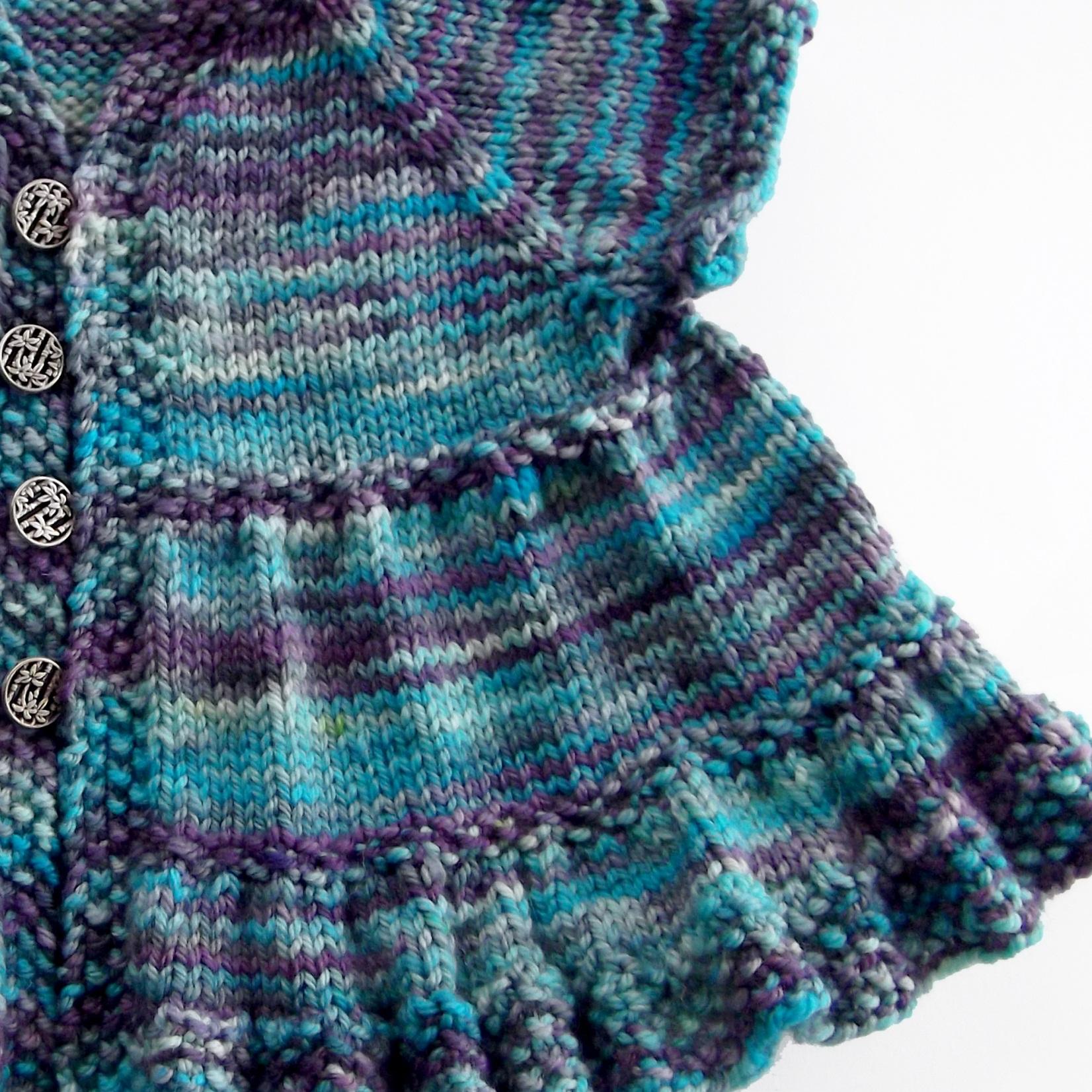 Knitting Dress Patterns For Babies : Smashwords ruffle dress baby knitting pattern a book