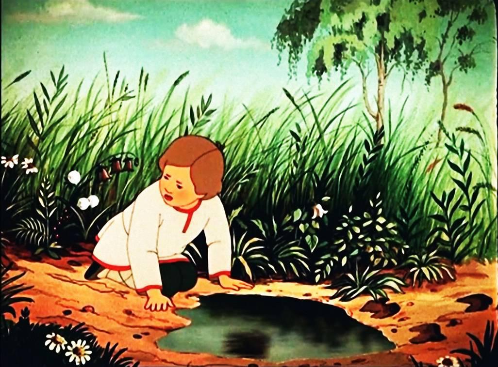 Картинка к сказке о братце иванушке и сестрице аленушке
