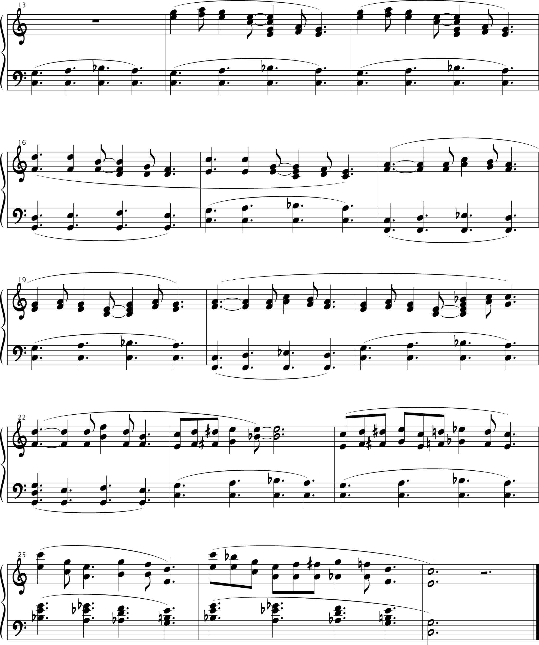 Free Christmas Violin Sheet Music O: Silent Night Piano Accompaniment Sheet Music Free
